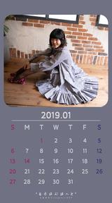 Calendar 2019.01 Smartphone